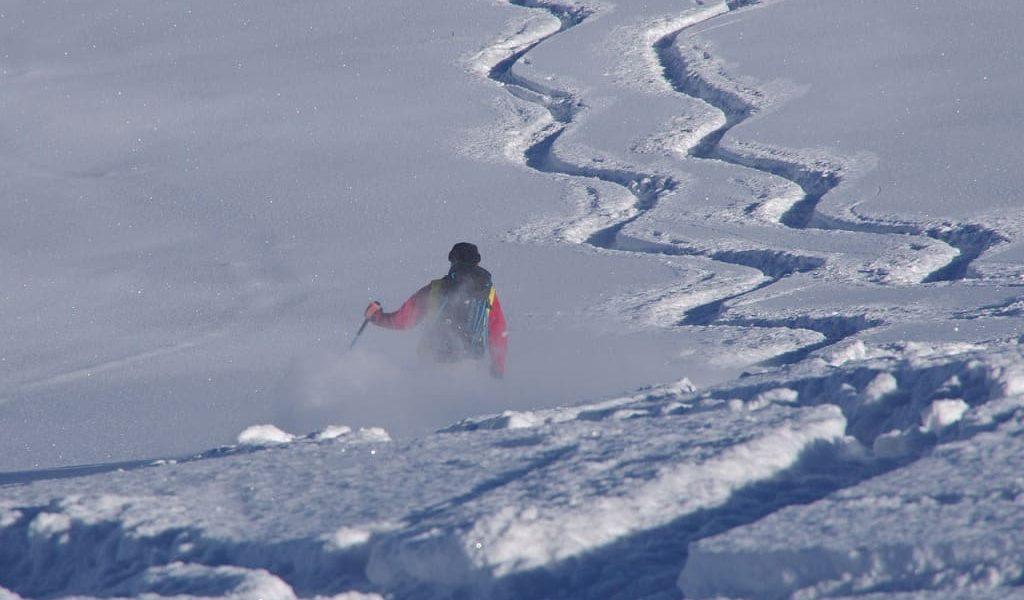 Winter Skifahren 1